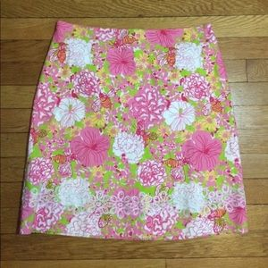 Key West Floral Bees 🐝 Skirt Size 8